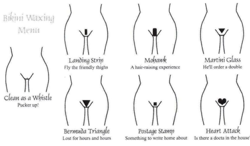 Pubic Hair Styles for Women